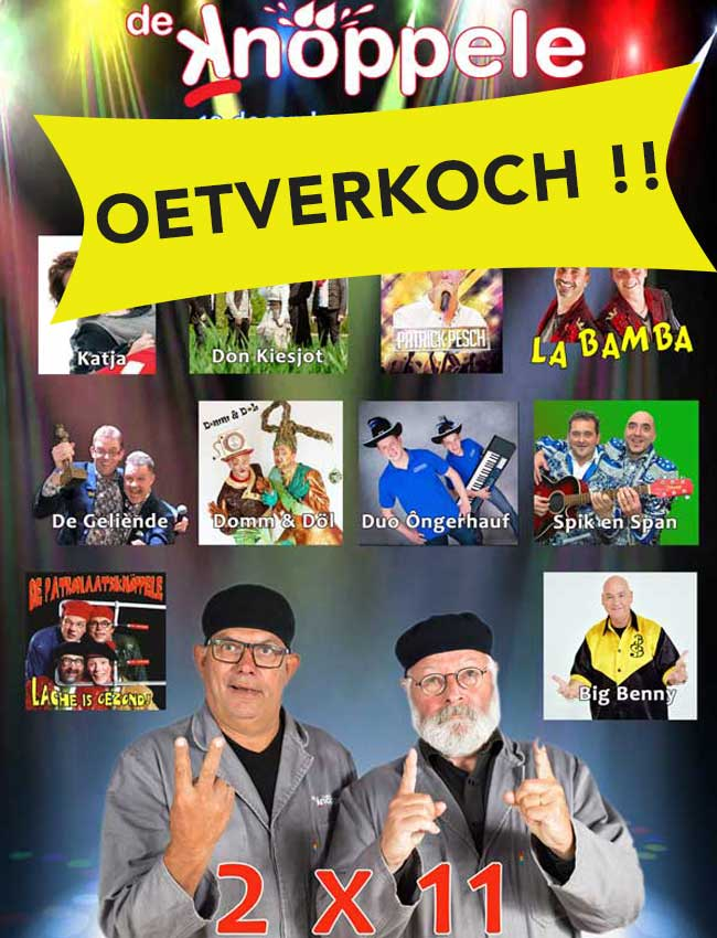 poster knoppele2017