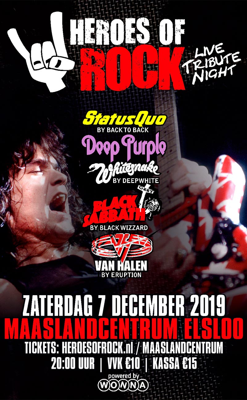 MLC heroes of rock 07.12.2019
